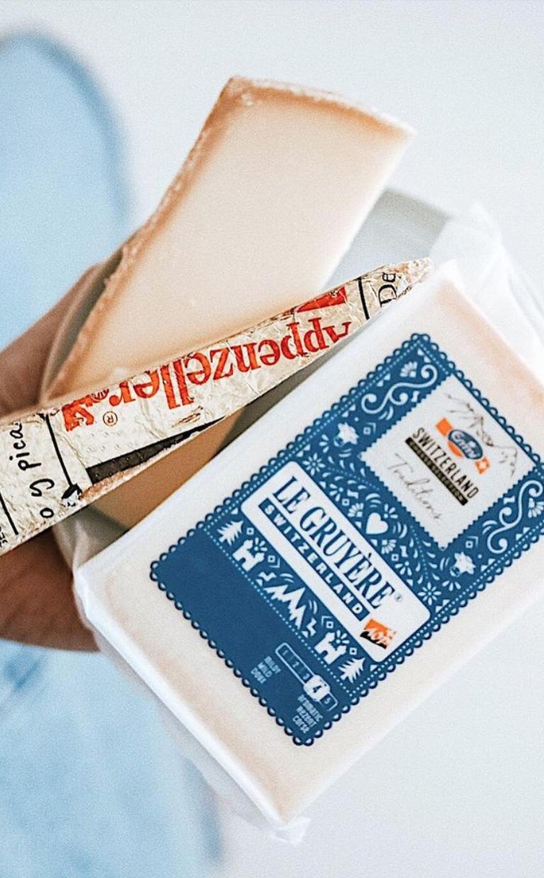 sveitsilaiset juustot